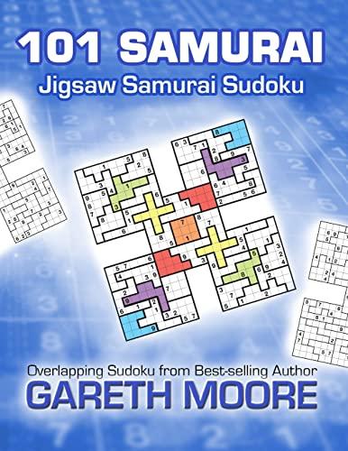 9781481111829: Jigsaw Samurai Sudoku: 101 Samurai