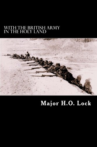 9781481113069: With the British Army in the Holy Land