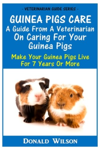 Guinea Pigs Care : A Guide From A Veterinarian On Caring For Your Guinea Pigs: Make Your Guinea ...
