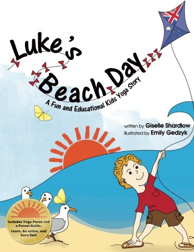 9781481159128: Luke's Beach Day: A Fun and Educational Kids Yoga Story (Kids Yoga Stories)