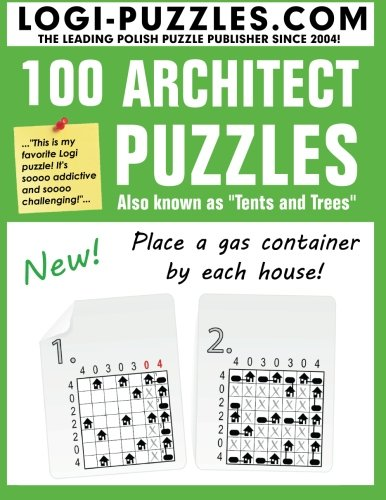 9781481171397: 100 Architect Puzzles: Tents and Trees