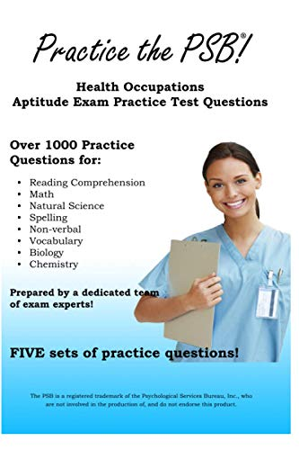 9781481175203: Practice the PSB: Health Occupations Aptitude Exam Practice Test Questions