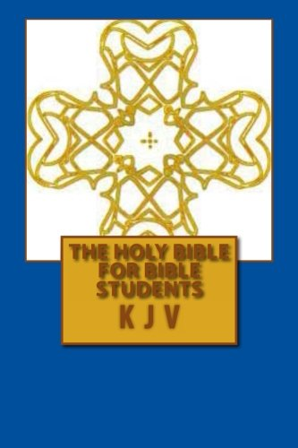 9781481199292: The Holy Bible For Bible Students KJV