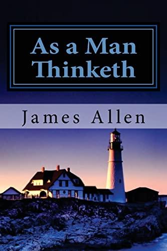9781481216135: As a Man Thinketh