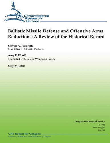 9781481217101: Ballistic Missile Defense and Offensive Arms Reductions: A Review of the Historical Record