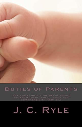 9781481240802: Duties of Parents