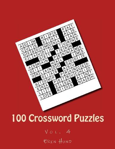 9781481269261: 100 Crossword Puzzles: Vol. 4