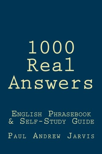 9781481278522: 1000 Real Answers: English Phrasebook & Self-Study Guide