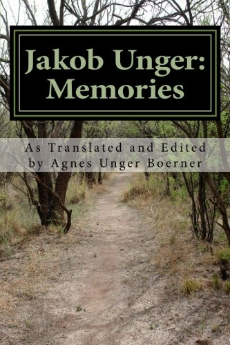 9781481284660: Jakob Unger: Memories