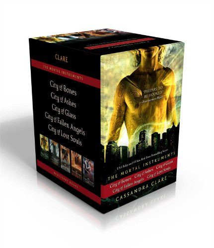 The Mortal Instruments: City of Bones; City of Ashes; City of Glass; City of Fallen Angels; City of...