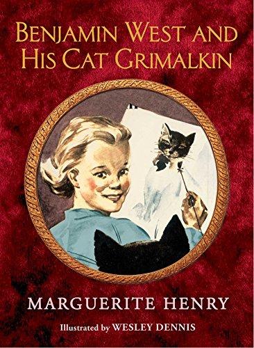 9781481403955: Benjamin West and His Cat Grimalkin