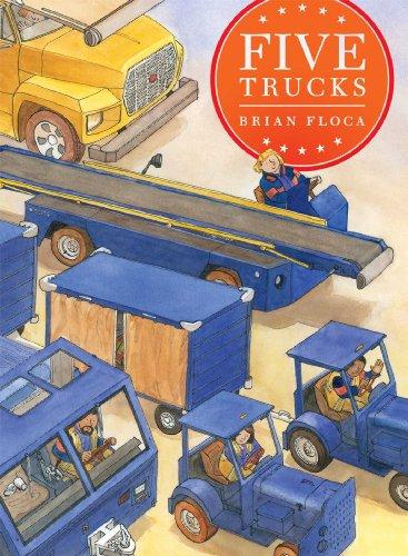 Five Trucks (Richard Jackson Books (Atheneum Hardcover)): Floca, Brian