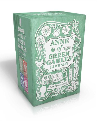 9781481409339: Anne of Green Gables Library: Anne of Green Gables; Anne of Avonlea; Anne of the Island; Anne's House of Dreams (An Anne of Green Gables Novel)