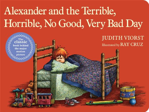 9781481414128: Alexander and the Terrible, Horrible, No Good, Very Bad Day (Little Simon Lap Board Books)