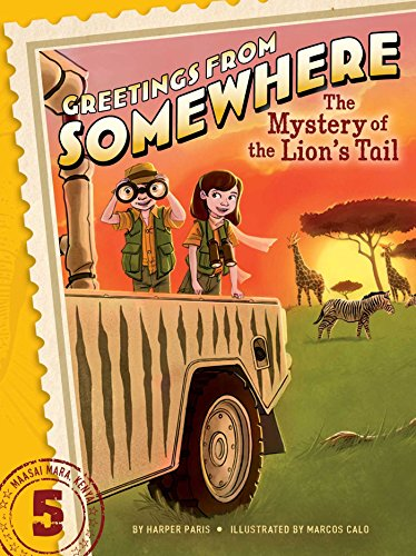 9781481414654: The Mystery of the Lion's Tail