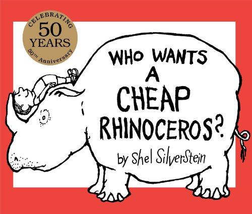 9781481415934: Who Wants a Cheap Rhinoceros?: 50th Anniversary Edition