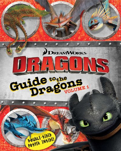 9781481419369: Guide to the Dragons Volume 1 (How to Train Your Dragon TV)