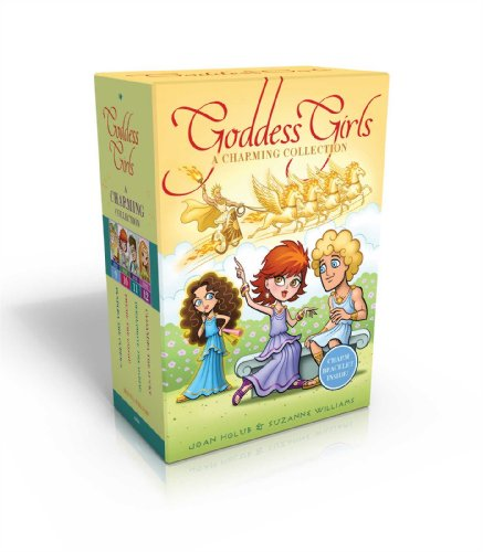 The Goddess Girls Charming Collection Books 9-12 [With Charm Bracelet] (Boxed Set): Joan Holub