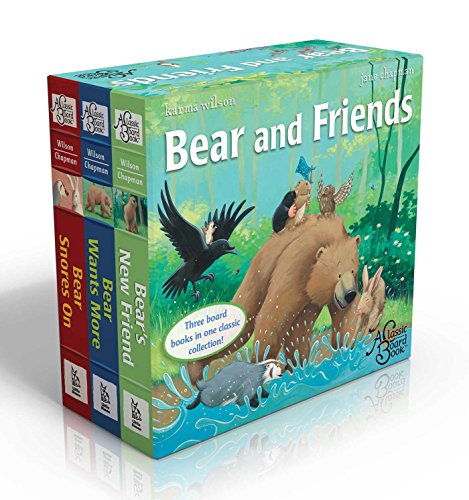 Bear and Friends: Bear Snores On; Bear Wants More; Bear's New Friend (The Bear Books): Wilson,...