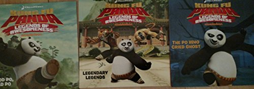 9781481434102: DreamWorks Kung Fu Panda Legends of Awesomeness: Good Po, Bad Po; Legendary Legends; and/or The Po Who Cried Ghost