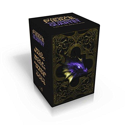 9781481440301: The Immortals Quartet: Wild Magic; Wolf-Speaker; Emperor Mage; The Realms of the Gods