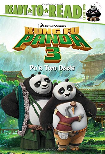 9781481441087: Po's Two Dads (Kung Fu Panda 3 Movie)