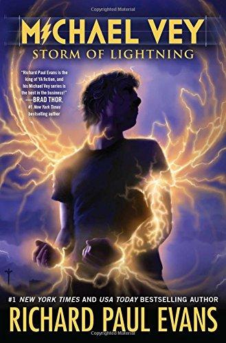 Michael Vey 5: Storm of Lightning (Michael Vey (Hardcover)): Evans, Richard Paul