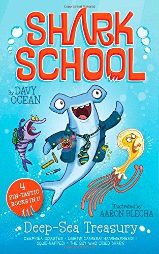9781481451154: Deep-Sea Treasury: Deep-Sea Disaster; Lights! Camera! Hammerhead!; Squid-napped; The Boy Who Cried Shark (Shark School)