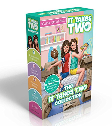 9781481451369: The It Takes Two Collection: A Whole New Ball Game; Two Cool for School; Double or Nothing; Go! Fight! Twin! [With Stretchy Headband]