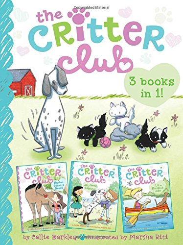 9781481456401: The Critter Club 3-Books-in-1!: Marion Takes a Break; Amy Meets Her Stepsister; Liz at Marigold Lake