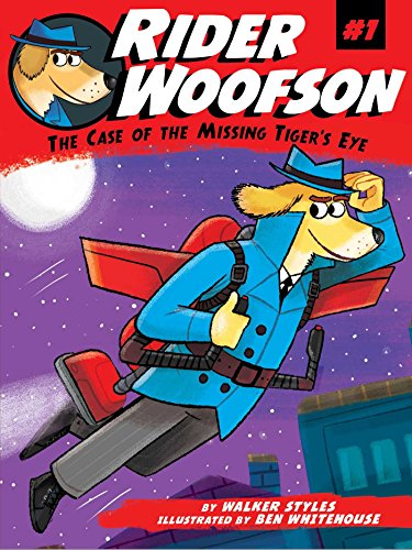 9781481457392: The Case of the Missing Tiger's Eye (Rider Woofson)