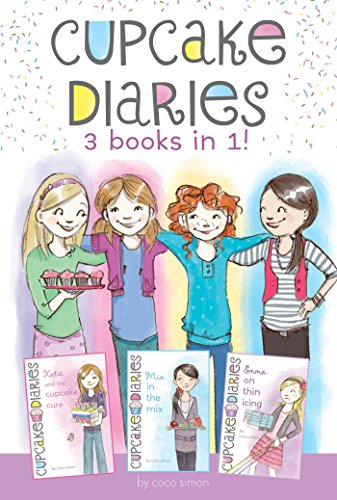 Cupcake Diaries 3 Books in 1!: Katie and the Cupcake Cure; MIA in the Mix; Emma on Thin Icing: ...