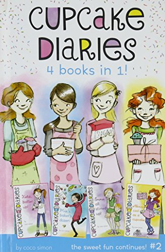 Cupcake Diaries 4 Books in 1! #2: Katie, Batter Up!; Mia's Baker's Dozen; Emma All ...