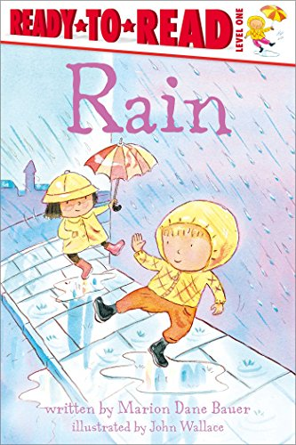 9781481462143: Rain (Weather Ready-to-Reads)