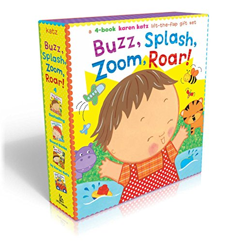 Buzz, Splash, Zoom, Roar!: A Karen Katz Lift-The-Flap Gift Set: Buzz, Buzz, Baby!; Splish, Splash, ...