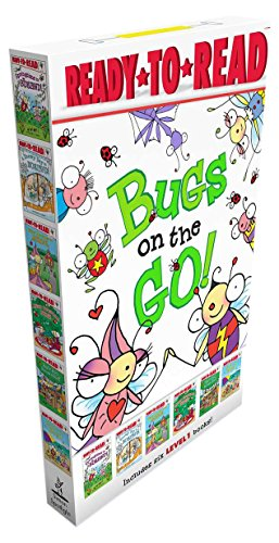 9781481462983: Bugs on the Go!: Springtime in Bugland!; A Snowy Day in Bugland!; Bitsy Bee Goes to School; Merry Christmas, Bugs!; Busy Bug Builds a Fort; Bugs at the Beach (David Carter's Bugs)
