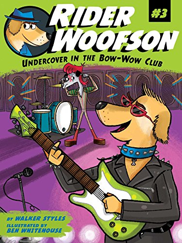 9781481463034: Undercover in the Bow-Wow Club (Rider Woofson)
