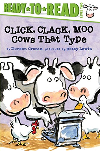 9781481465403: Click, Clack, Moo/Ready-to-Read: Cows That Type (A Click Clack Book)