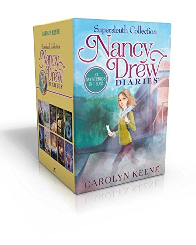 9781481469241: Nancy Drew Diaries Supersleuth Collection: Curse of the Arctic Star; Strangers on a Train; Mystery of the Midnight Rider; Once Upon a Thriller; ... Clue at Black Creek Farm; A Script for Danger