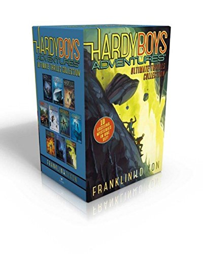 9781481469265: Hardy Boys Adventures Ultimate Thrills Collection: Secret of the Red Arrow; Mystery of the Phantom Heist; The Vanishing Game; Into Thin Air; Peril at ... of the Ancient Emerald; Tunnel of Secrets