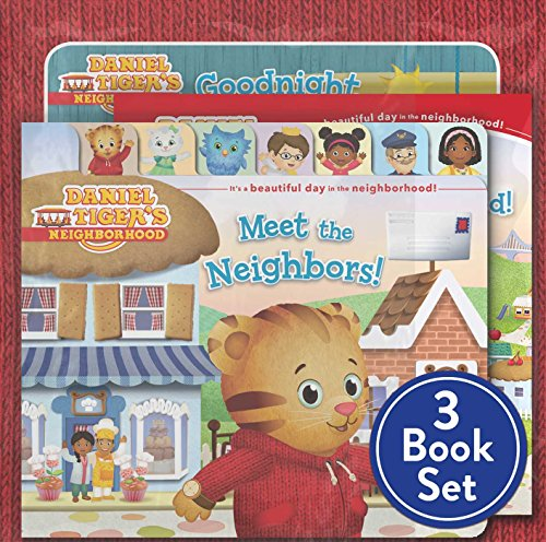 9781481477772: Daniel Tiger Shrink-Wrapped Pack #1: Goodnight, Daniel Tiger; Meet the Neighbors!; Welcome to the Neighborhood (Daniel Tiger's Neighborhood)