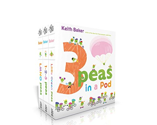 9781481485272: 3 Peas in a Pod: LMNO Peas; 1-2-3 Peas; Little Green Peas (The Peas Series)