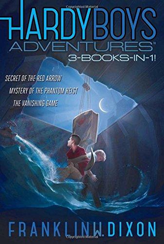 9781481485531: Hardy Boys Adventures 3-Books-in-1!: Secret of the Red Arrow; Mystery of the Phantom Heist; The Vanishing Game