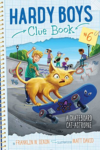 9781481488693: A Skateboard Cat-astrophe (Volume 6)