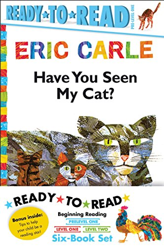 Eric Carle Ready-To-Read Value Pack: Have You Seen My Cat?; Walter the Baker; The Greedy Python; ...