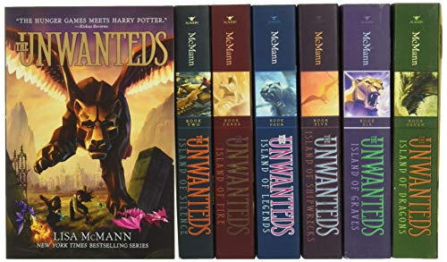 The Unwanteds Collection: The Unwanteds; Island of Silence; Island of Fire; Island of Legends; ...