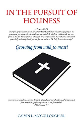 9781481721707: In the Pursuit of Holiness: Growing from Milk to Meat!
