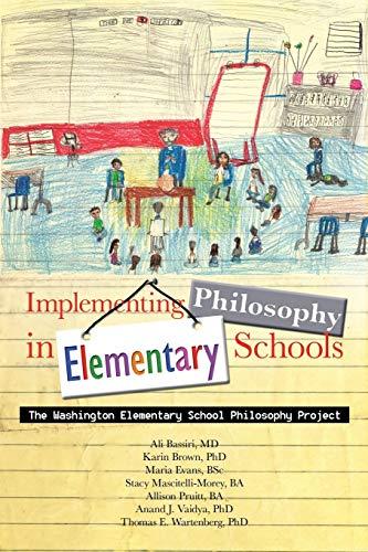 9781481766258: Implementing Philosophy in Elementary Schools: The Washington Elementary School Philosophy Project