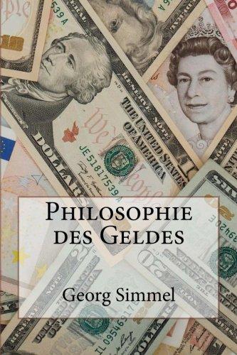 9781481826341: Philosophie des Geldes