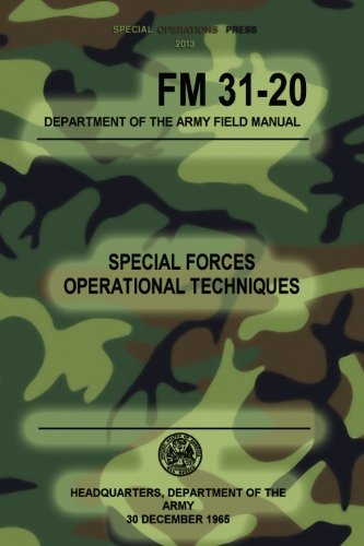 FM 31-20 Special Forces Operational Techniques: 30: The Army, Headquarters